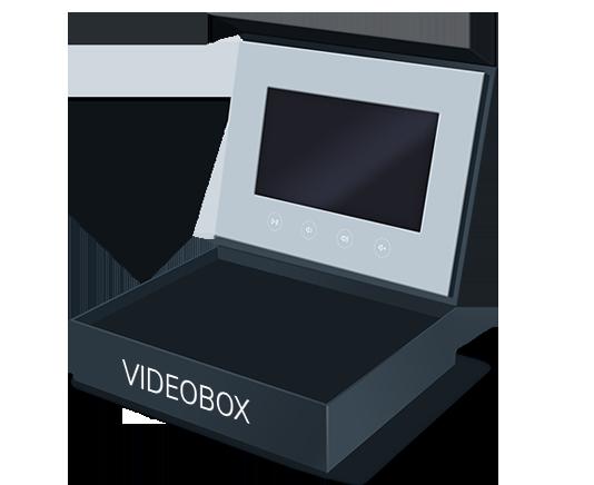 Videobroschüre Designvorschlag